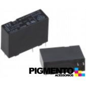 Relé electromagnético 24VDC 5A SPST-NO (4 pinos) para soldar - Fujitsu FTR-F3AA024E-HA