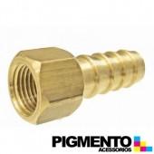 PICO RECTO HEMBRA 1/2 P/ MANGUERA DE GAS BUTANO