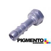 PICO DRT. P/ TUBO DE GAS NAT. (ALUMINIO) (HEMBRA 1/