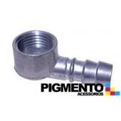 PICO CURVO P/ TUBO DE GAS NAT. (ALUMINIO) (HEMBRA 1/2)