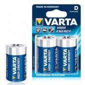 Pilas Alcalinas Varta Energy LR20 (D) 1,5V 15000mAh