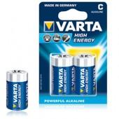 Pilas Alcalinas Varta Energy LR14 (C) 1.5V 7000mAh