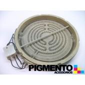 PLACA P/ VITROC. 2200W 230V C/HALOG. 230mm