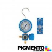 MANOMETRO 1 VALVULA BX. PRESSAO R22-R134A-R407C-R410A