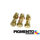 INYECTORES ESTUFA M6 GAS BUT. JUNEX-SMEG-PHILIPS (KIT 6 UNID.)