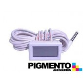 TERMOMETRO DIGITAL -40º/+70º RECTANGULAR C/ SONDA