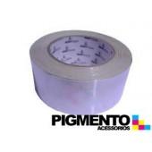 CINTA AISLAMIENTO DE ALUMINIO 50 mt. X 50mm ESP.40 MICRONS