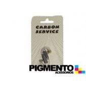 KIT ESCOBILLAS CARVAO 6X6X16/19.2 mm