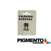 KIT ESCOBILLAS CARVAO 6X7X11/12,5 mm