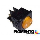 INTERRUPTOR LUMINOSO 25X25mm 4C Amarillo