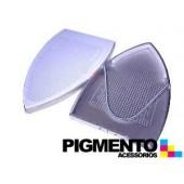 BASE EM ALUMINIO/TEFLON P/ HIERRO DE PLANCHA INDUSTRAL
