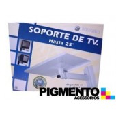 "SOPORTE P/ TV ""25"" NEGRO"