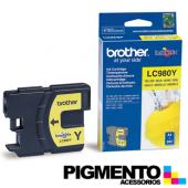 Tintero DCP145C (LC980Y) Amarillo COMPATIVEL
