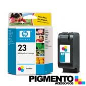 Tintero Num.23 DeskJet 89xC/OJ117xx/ DJ710C (C1823D) 3 Cores  COMPATÍVEL