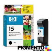 Tintero HP DeskJet 810C/816C (C6615D) Num.15 Negro COMPATÍVEL