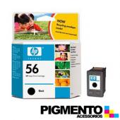 Tintero Deskjet 450 Series (C6656A) Num.56 Negro  COMPATÍVEL