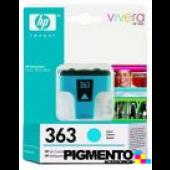 Tintero (C8771E) PhotoSmart 3210/8250 Num.363 Azul  COMPATÍVEL
