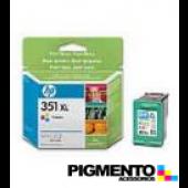 Tintero Officejet J5780/D4260 (CB338E) Num.351XL Tricolor  COMPATÍVEL