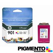 Tintero Officejet 4500/J4580 HP 901 (CC656A) 3 Cores  COMPATÍVEL
