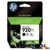 Tintero Officejet 6000/6500/7000 (CD975A) Num.920XL Negro  COMPATÍVEL