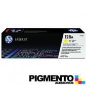 Toner HP Laserjet 128A (CE322A) Amarillo COMPATIVEL