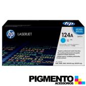 Toner HP Laserjet 124A (Q6001A) Azul COMPATIVEL