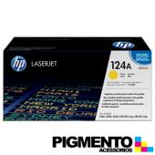 Toner HP Laserjet 124A (Q6002A) Amarillo COMPATIVEL