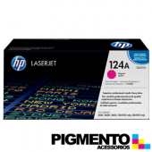 Toner HP Laserjet 124A (Q6003A) Magenta COMPATIVEL