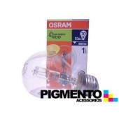 LÁMPARA HALOGENIO E27 53W.-230V. OSRAM ECO 64544