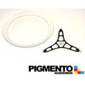 PLATO P/ MICROONDAS C/ SOPORTES (DIAM 245mm) REF: AR141432 / 141432 / C00141432