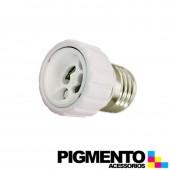 SOPORTE ADAPTADOR DE E27 P/ GU10