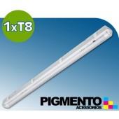 ARMADURA ESTANQUE P/ 1 LÁMPARA DE LED (150cm.)