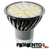 LÁMPARA DE LED 3,5W=25W.-100/240V. E27 (250 LUMEN 2700K)