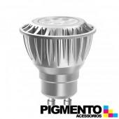LÁMPARA DE LED 4,6W=35W.-100/240V. GU10 (245 LUMEN 2700K)