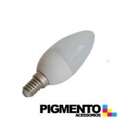 LÁMPARA DE LED 3W=25W. 230V. E14 (225 LUMEN 3000K)