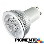 LÁMPARA DE LED 4W=35W. 230V. GU10 (240 LUMEN 3000K)
