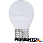 LÁMPARA DE LED 5W=35W. 230V. E27 (350 LUMEN 3000K)