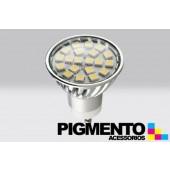 LÁMPARA DE LED 3,6W.(=30W.) 230V. GU10 (4200K / 360 Lm.)