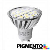 LÁMPARA DE LED 3,6W.(=30W.) 230V. GU10 (2800K / 360 Lm.)