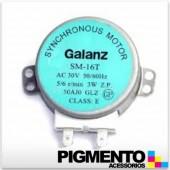 MOTOR GIRAPRATOS P MICROONDAS (AC 30V.-4W.-50/60HZ)