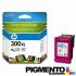 Tintero HP Num.300XL (CC644E) com Tinta Vivera 3 Cores  COMPATÍVEL